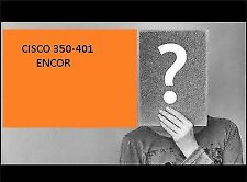 NEW Implementing and Operating Cisco Enterprise Network Core tech ENCOR 350-401