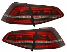 Pilotos Traseros LED VW Golf 7 Rojo Blanco Gti Look Olor Dinámico It Pro LDV