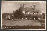 Postcard Porlock near Minehead Somerset early view of Doverhay Place RP