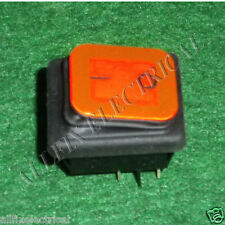 Ghibli T1 Backpack DPST Mains Rocker Switch with Rubber Boot - Part # T1-14