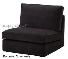 IKEA Tranas Black COVER for KIVIK One Seat Section Corduroy Slipcover 701.936.89