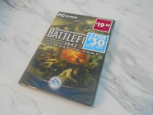 BATTLEFIELD 1942 THE ROAD TO ROME PC CD-ROM EA GAMES BRAND NEW AND SEALED