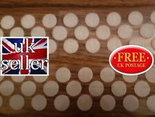 ALFATEX® SUPPLIED BY VELCRO® 16mm DOTS WHITE SELF ADHESIVE COINS