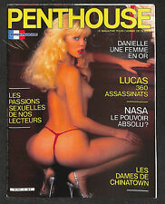 PENTHOUSE 6 - 1985 - 34,22€ - COMME NEUF - NON LU - 14 PAGES STAR DU X :(couv)-