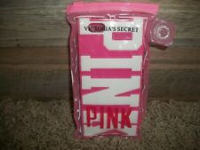 Victoria's Secret PINK Embroidery Soft Case Cover For iPhone 4/4s &5 Pink