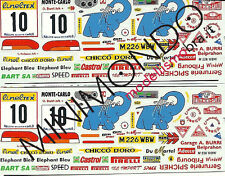 DECALS SUBARU IMPREZA WRX RALLY MONTECARLO 1997 BURRI 1/43 RACING43 RACING 43