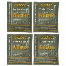 Alcotec Whiskey Turbo Distillers Yeast (Pack of 4)