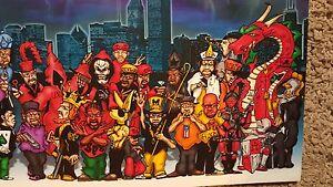 1 Chicago Chicagoland Gangland Gang Stories Gangsta Boogie Poster New Mint Copy