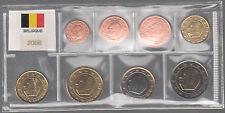 SET EURO BELGIO BELGIQUE  2006 FIOR DI CONIO FDC UNC IN BLISTER DA 8 PEZZI EURO