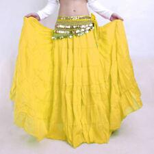 Boho Gypsy Hippie Maxi Skirt Flamenco Belly Dance Ruffle Ethnic Long Dance Dress