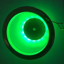 Led Lighted Cup Holder Green
