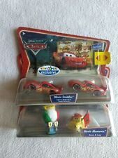 Disney Cars Movie Moments Guido/ Luigi Supercharged + doubles Lightning Mcqueen
