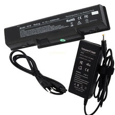 6Cell Battery + AC Adapter For Acer eMachines D525 D725 E525 E527 E725 E625 E627
