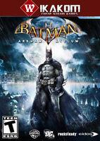 Batman: Arkham Asylum Game of the Year Edition Steam Digital Game **Fast Deliver