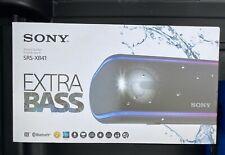 Sony SRS-XB41 Extra Bass Bluetooth Portable Wireless Speaker (Black)
