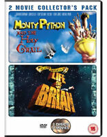Monty Phyton - Life Of Brian / And The Holy Grial DVD Nuevo ( Cdrp