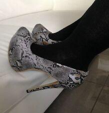 Stiletto Heels Women's Animal Print Snakeskin