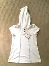 Nwot Gymboree Swim Shop Size 5t Pink Peach Terry Hooded Cover Up Non-Ironing Swimwear