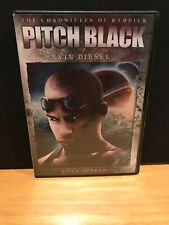 Pitch Black (Dvd, 2004, Full Frame Edition) Like New