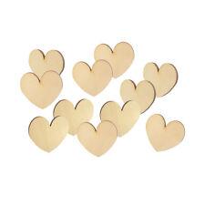 Holzherzen 36 Stück 5x4,5cm Streudeko Holz Herz Tischdeko Hochzeit Streuteile