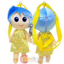Disney Inside Out Joy Plush Doll Backpack Pillow Cushion Soft Plush Toy Bag