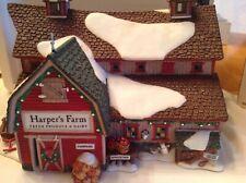"Dept 56 New England Village Series ""Harper's Farm"" Boxed"