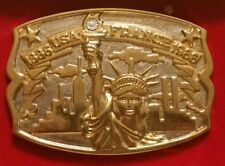 Statue of Liberty Belt Buckle (Hammond 'Diamond Edition')  *SHIPS FAST Mon-Sat!