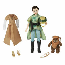 Disney Star Wars Princess Leia Organa & Wicket the Ewok Doll Figure - Brand New