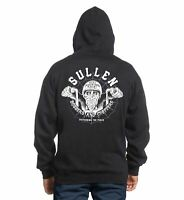 Sullen Art Collective Bobbers and Choppers Mens Zipped Hoodie Biker Tattoo