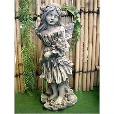 flores Hada Amapola FANTASY FIGUR de piedra moldeada, para jardín,NUEVO,