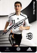 Miroslav Klose Werder Bremen Bayern Kaiserslautern Lazio Rom DFB Deutschland