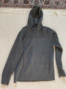 mens aether wool cashmere hoody 5