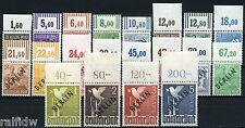 Berlin Schwarzaufdruck 1948** Oberrandsatz Attest (S8183)