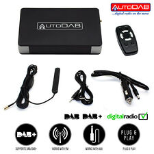 Add DAB DAB+ Radio Tuner Interface to any FM Stereo in Car Taxi Van  AutoDAB FM