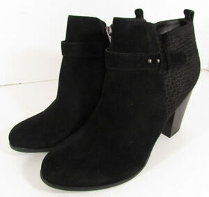 Michael by Michael Shannon Womens Zoeyy Ankle Boot Shoes, Black, US 11