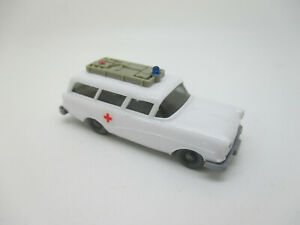 WIKING : Opel Camping-Car Croix Rouge Ambulance, Feuille Adhésive (Schub26)