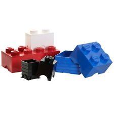 LEGO Magazzinaggio mattone 1 pomello bianco BAMBINI GIOCATTOLO camera da letto
