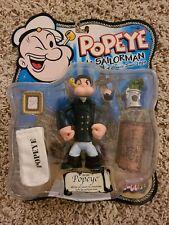 "Popeye The Sailor man Pea Coat Popeye Series 1 5"" Figure 2001 Mezco"