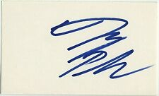 JAY PHAROAH SIGNED AUTOGRAPHED 3x5 INDEX CARD ORIGINAL SIGNATURE SNL PROOF