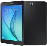 "Samsung Galaxy Tab A T550 9.7"" Black 5MP Cam WiFi Quad Core Android 5.0 BT UK"