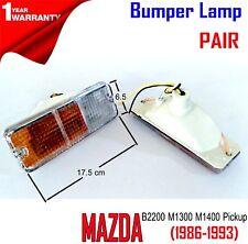 Mazda B2200 ;1987 88 89 90 91 92 93 Parking Turn Light Lamp 1 Pair Clear Amber