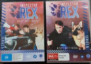 Inspector Rex : Series 5 & 6 DVD BOX SETS (PAL, 8 Discs)