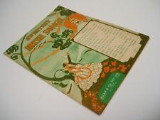 SWEETEST IRISH SONGS - Vintage SHEET MUSIC