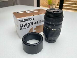 Tamron AF 70-300mm F/4-5.6 Di LD Macro 1:2 Lens for Nikon