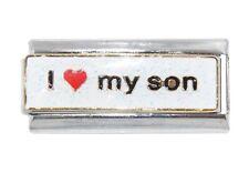 I love my Son superlink Italian charm - fits 9mm classic charm bracelets
