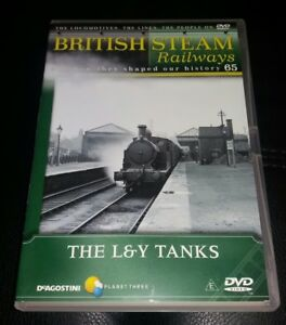 British Steam RAILWAYS DVD NO 65 THE L&Y TANKS History FREE UK P&P DEAGOSTINI