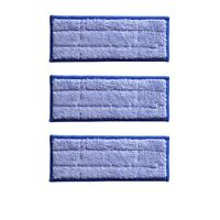3 pack Washable Wet Mopping Pads replacement for iRobot Braava Jet 240