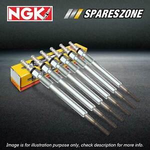 6 NGK Glow Plugs for Audi A4 B8 A5 8T A6 C7 A7 G4 A8 4H Q5 8R Q7 TDI Quattro