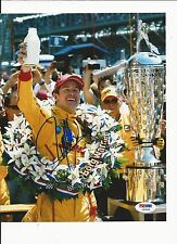 RYAN HUNTER-REAY HAND SIGNED COLOR INDY CAR 8X10 W/ PSA COA Y60896