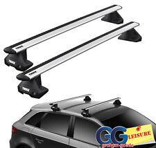 Cross bar set x2 for RangeRover Sport 2005-14 roof rack luggage rail locking key